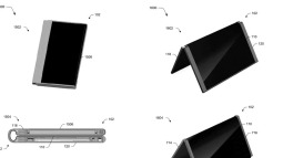 Microsoft đã đăng kí bằng sáng chế Surface Phone dạng gập, có thể biến thành máy tính bảng