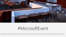 Microsoft sẽ tổ chức thêm một sự kiện Surface nữa vào ngày 23/5, có thể ra mắt Surface Pro 5