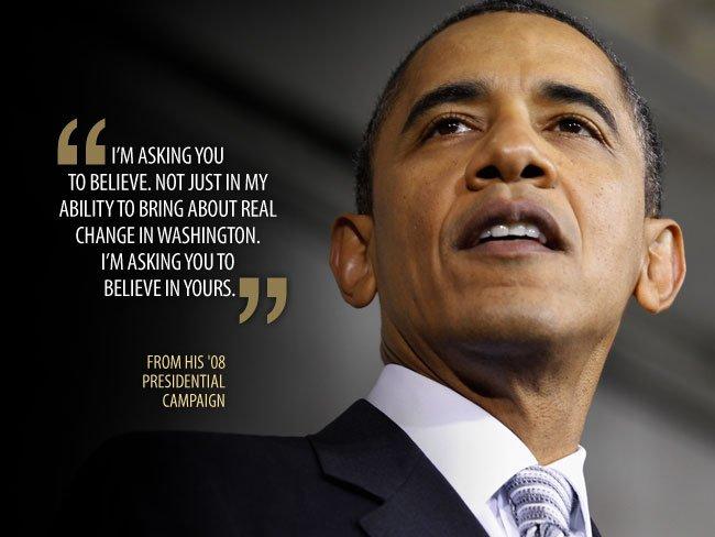 Obama và những câu nói truyền cảm hứng