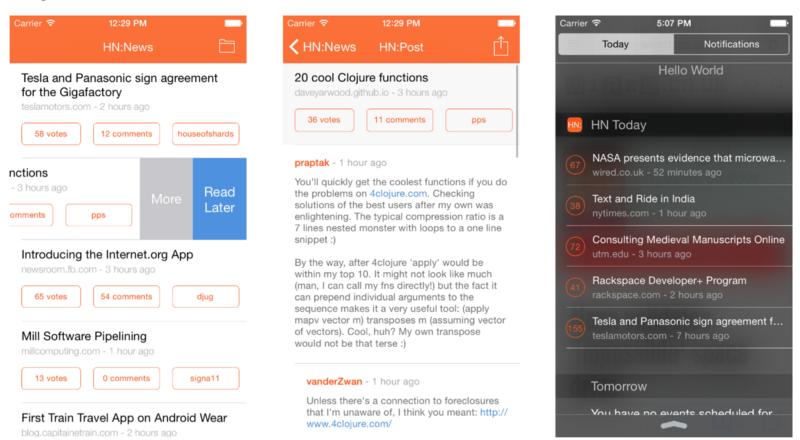 21 nguồn mở tuyệt vời để viết các ứng dụng iOS bằng Swift - Talent