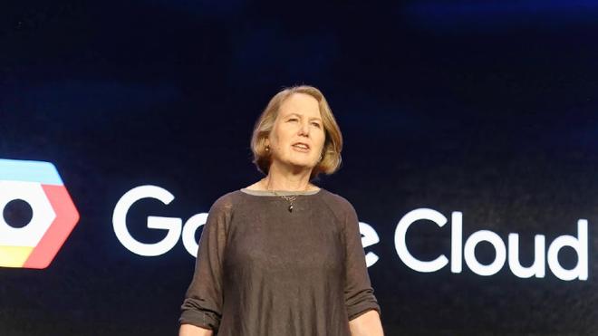 Bà Diane Greene của bộ phận Google Cloud.