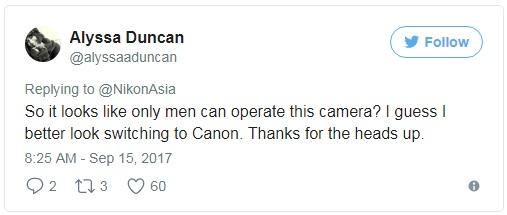 Chắc có mỗi đàn ông mới sử dụng được chiếc camera này nhỉ?  Có lẽ tôi phải chuyển sang dùng Canon thôi!