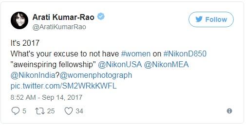 2017 rồi đấy, không có lý do gì mà không mời bất cứ một nhiếp ảnh gia nữ nào  tham gia trải nghiệm Nikon D850 cả