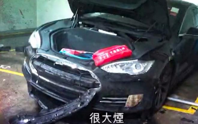 Xe Tesla Model S bất ngờ bốc cháy tại bãi đỗ xe ở Hồng Kông, Tesla từ chối bình luận về nguyên nhân - Ảnh 2.
