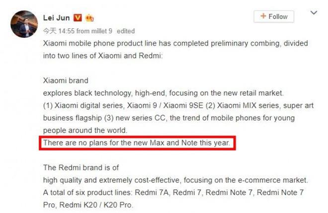 Xiaomi có thể khai tử dòng smartphone Mi Max và Mi Note - Ảnh 2.