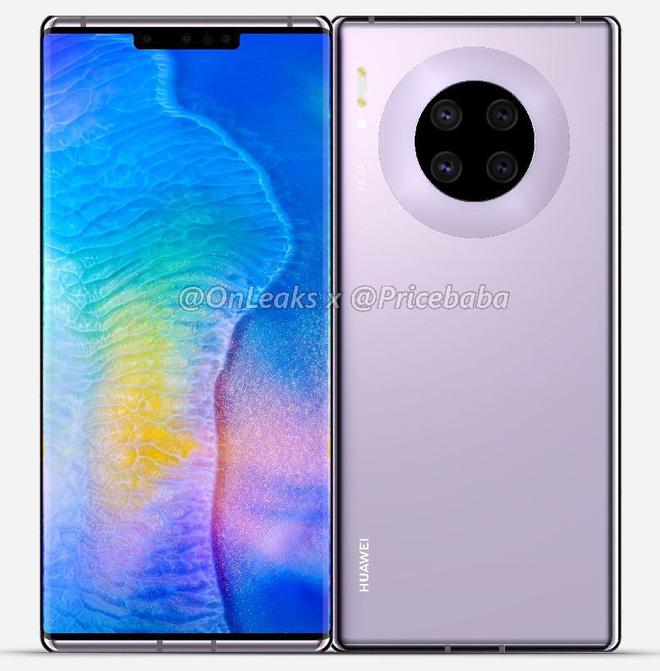 Huawei Mate 30 Pro lộ hình ảnh thiết kế và các thông số kỹ thuật khủng, nhưng ai dám mua thì chưa biết - Ảnh 1.