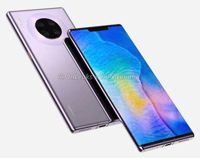 Huawei Mate 30 Pro lộ hình ảnh thiết kế và các thông số kỹ thuật khủng, nhưng ai dám mua thì chưa biết - Ảnh 3.