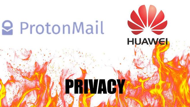 Tất cả đã hiểu nhầm, ProtonMail không hợp tác với Huawei và cũng không phải ứng dụng email mặc định thay thế Gmail - Ảnh 1.