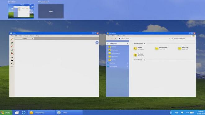 Nếu Windows XP ra mắt vào năm 2019, trông nó sẽ như thế này đây - Ảnh 7.