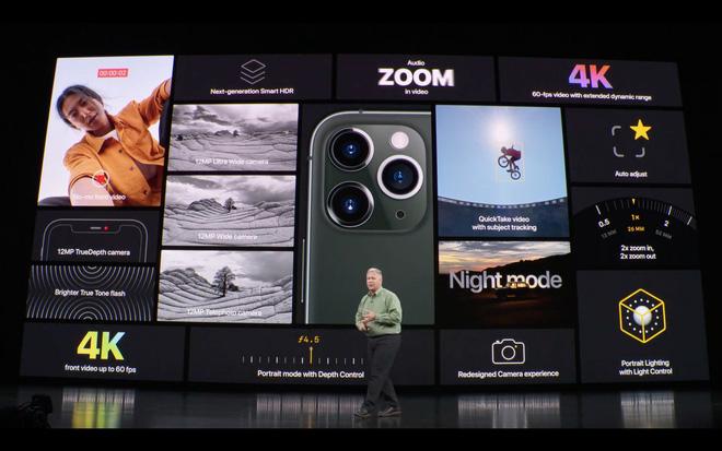 Apple ra mắt iPhone 11 Pro và iPhone 11 Pro Max: Thiết kế pro, màn hình pro, hiệu năng pro, pin pro, camera pro và mức giá cũng pro - Ảnh 21.
