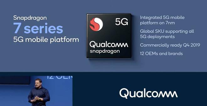 5G sẽ có mặt trên cả các bộ xử lý tầm trung của Qualcomm ra mắt vào năm sau - Ảnh 1.