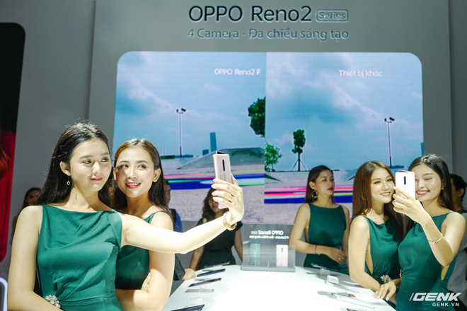 Trên tay bộ đôi Oppo Reno 2 và 2F chính thức ra mắt tại Việt Nam hôm nay: Thiết kế vây cá mập độc quyền, 4 camera, sạc VOOC 3.0, giá 8,99 và 14,99 triệu đồng - Ảnh 12.