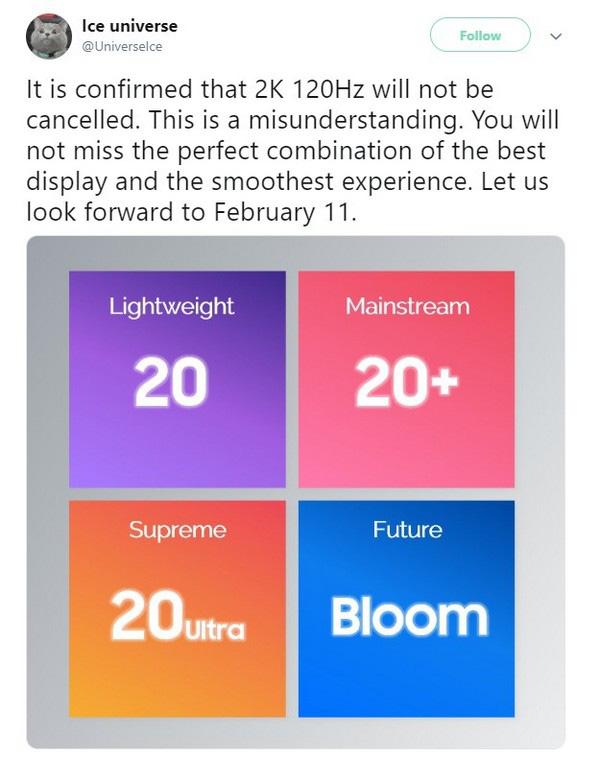 Dòng Galaxy S20 sẽ trang bị màn hình với tần số quét lên tới 120Hz, có tùy chọn chuyển về 60Hz? - Ảnh 2.