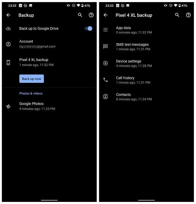Cũng có tính năng sao lưu và khôi phục dữ liệu như nhau, nhưng Android lại kém hơn iPhone rất nhiều - Ảnh 1.