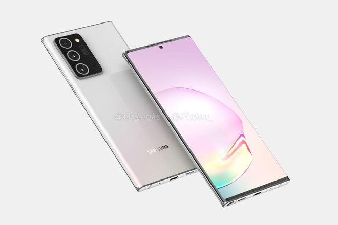 Samsung Galaxy Note 20+ 5G lộ thiết kế hoàn chỉnh - Ảnh 3.