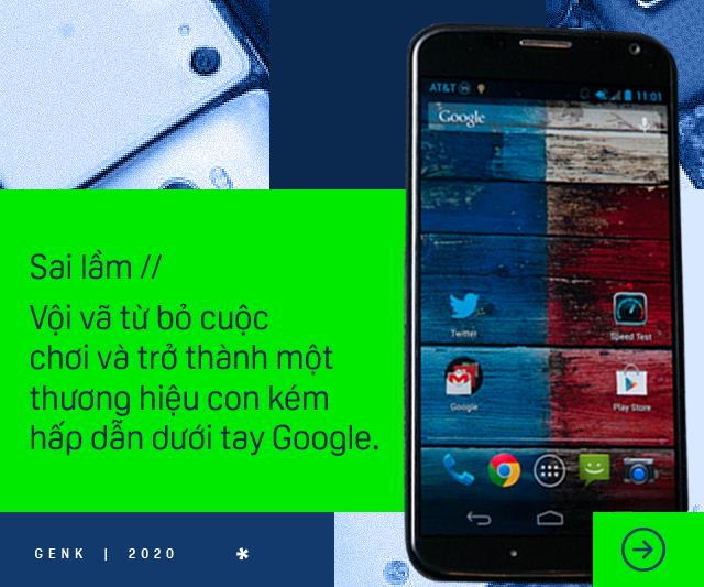 Sony, HTC, LG và Motorola: Sai lầm nào đã khiến những kẻ từng một thời tiên phong cho Android để mất vị thế vào tay người Trung Quốc? - Ảnh 6.