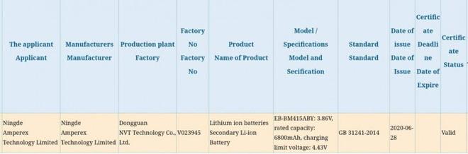 Đây có thể là chiếc smartphone đầu tiên của Samsung được trang bị viên pin lên tới 6.800 mAh - Ảnh 2.