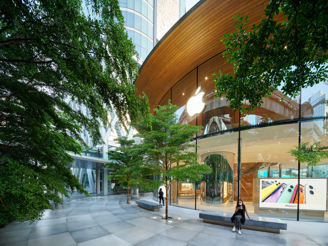 Chiêm ngưỡng Apple Store thứ hai tại Thái Lan, khai trương cuối tuần này - Ảnh 2.