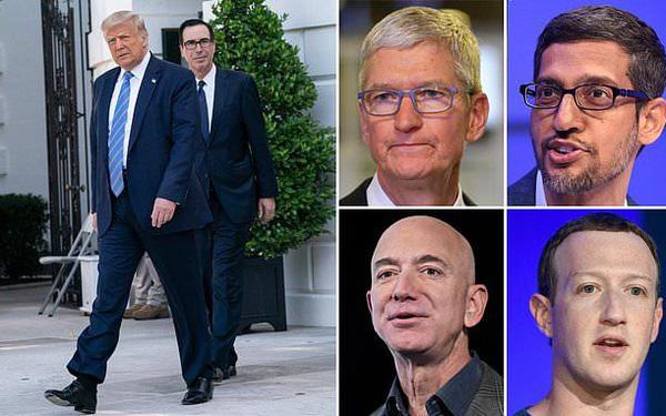 Ông Trump dọa xử nhóm Big Tech nếu Quốc hội Mỹ không làm gì - Ảnh 1.