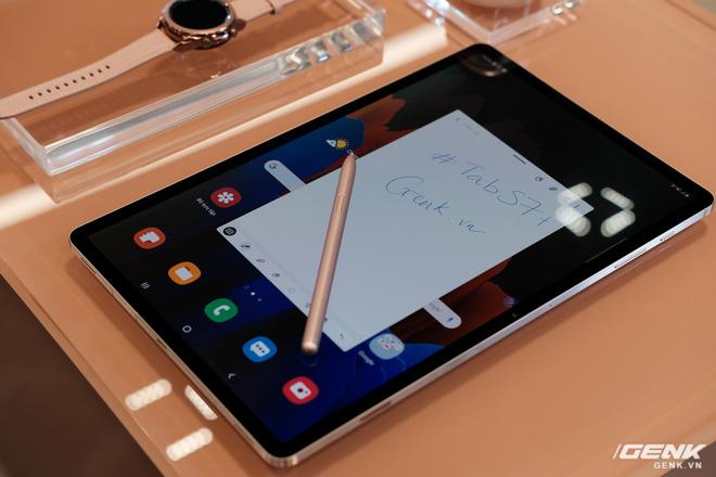 Ảnh thực tế Galaxy Tab S7 tại VN: Hai kích thước màn hình, 120Hz, Snapdragon 865+, Samsung DeX không dây - Ảnh 4.