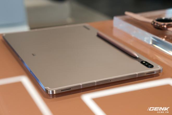 Ảnh thực tế Galaxy Tab S7 tại VN: Hai kích thước màn hình, 120Hz, Snapdragon 865+, Samsung DeX không dây - Ảnh 6.