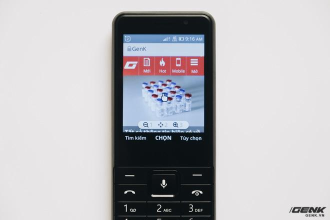 Trên tay BKAV C85 giá 500.000 đồng: Pin 3000mAh, chạy KaiOS, hỗ trợ 4G, tiếc rằng không có Wi-Fi - Ảnh 22.
