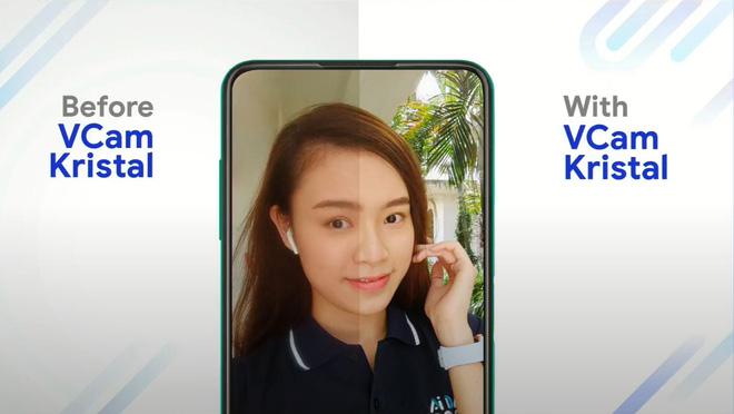 VinAI giới thiệu VCam Kristal: Công nghệ camera ẩn dưới màn hình của Vsmart Aris Pro - Ảnh 3.