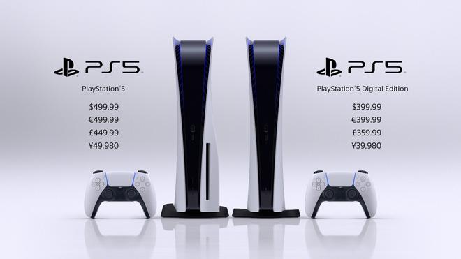 Sony PlayStation 5 sẽ có giá từ 399,99 USD, ra mắt vào ngày 12 tháng 11 - Ảnh 1.