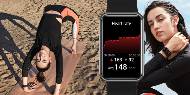 Huawei Watch Fit ra mắt tại VN: Nhiều tính năng sức khoẻ, pin 10 ngày, giá 3.29 triệu - Ảnh 1.