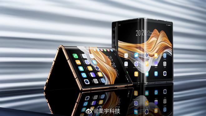 Smartphone màn hình gập Royole FlexPai 2 ra mắt, rẻ bằng 1/2 so với Galaxy Z Fold2 - Ảnh 1.