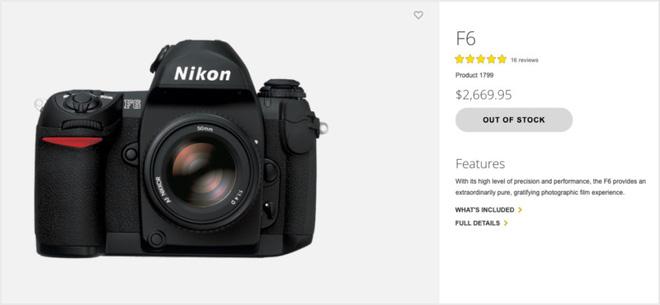 Nikon chính thức ngừng sản xuất Nikon F6 - chiếc máy ảnh chụp phim cuối cùng của hãng - Ảnh 3.