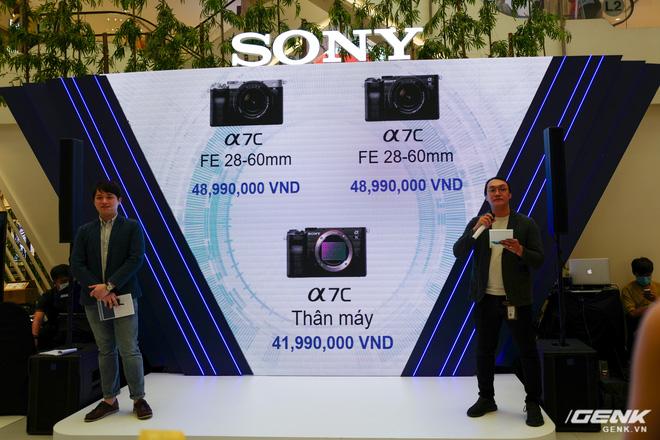 Máy ảnh thay ống kính Full Frame nhỏ nhất của Sony chính thức bán ra tại thị trường Việt Nam, giá 41,99 triệu đồng cho thân máy - Ảnh 6.