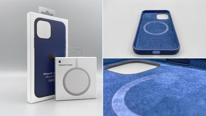 Bộ sạc MagSafe mới và ốp lưng của iPhone 12 đã bắt đầu đến tay người dùng - Ảnh 1.