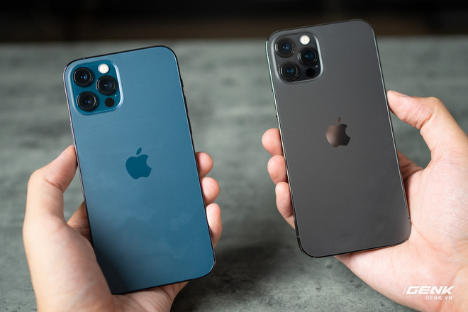 So sánh 2 màu đẹp nhất trên iPhone 12 Pro: Đen Graphite và Xanh Pacific - Ảnh 3.