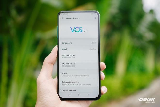 Chi tiết Vsmart Aris Pro: Smartphone Việt đầu tiên có camera ẩn dưới màn hình, giá 10 triệu - Ảnh 16.