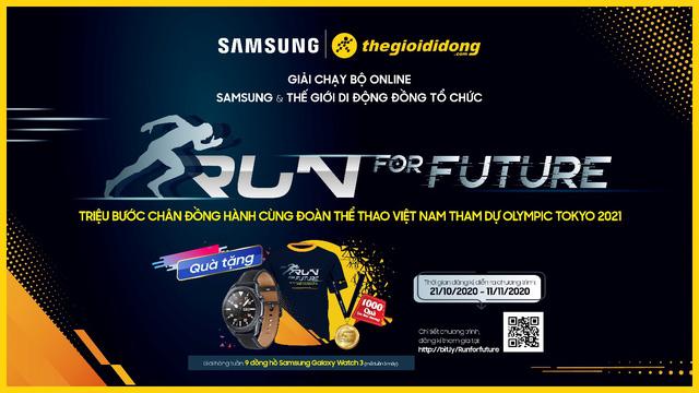 Tham gia giải chạy bộ online Run For Future cổ vũ Olympic Việt Nam cùng Thế Giới Di Động - Ảnh 1.