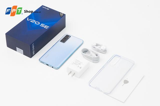 Vivo V20 SE chính thức lên kệ FPT Shop: giảm giá 500.000 đồng, giá chỉ 6.690.000 đồng - Ảnh 2.