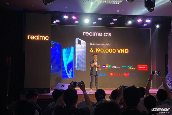 Trên tay Realme C15 tại Việt Nam: Thiết kế giống C12, thêm 1 camera sau, tăng thêm 1GB RAM, chạy Snapdragon 460, giá 4,19 triệu đồng - Ảnh 11.
