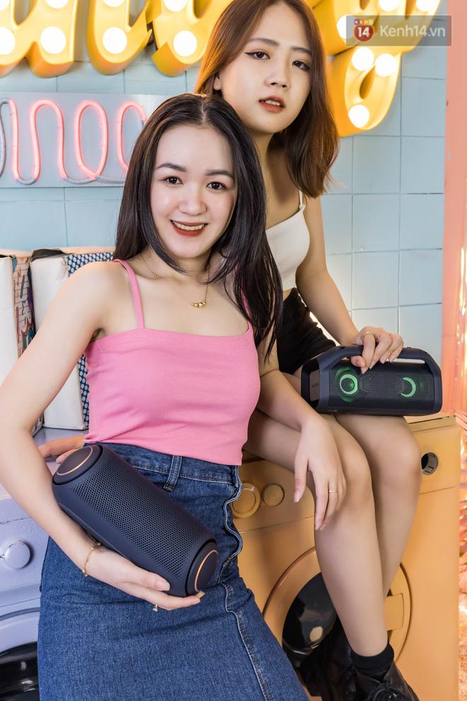 Đánh giá nhanh loa LG XBOOM Go: Thiết kế trẻ trung, nhiều tính năng thông minh, phù hợp cho fan Rap Việt - Ảnh 5.