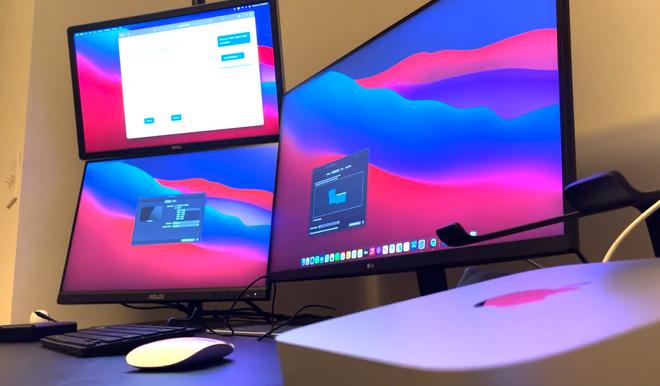 Máy Mac dùng chip Apple M1 có thể kết nối tối đa 6 màn hình nhờ giải pháp thay thế đặc biệt - Ảnh 5.