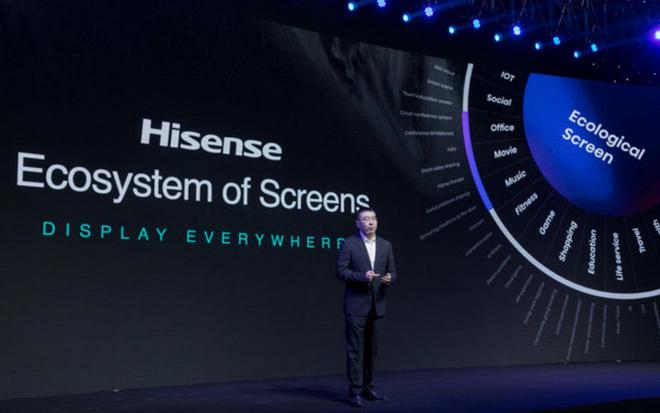 [CES 2021] Hisense ra mắt dòng TV laser full-color đầu tiên trên thế giới, hỗ trợ giao tiếp mạng xã hội - Ảnh 3.