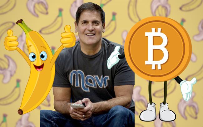 """Từng nhận xét """"thà mua chuối còn hơn mua Bitcoin"""", Shark Mark Cuban giờ đây khen Bitcoin là kho lưu trữ giá trị, đã mua vào và không bao giờ bán ra - Ảnh 1."""