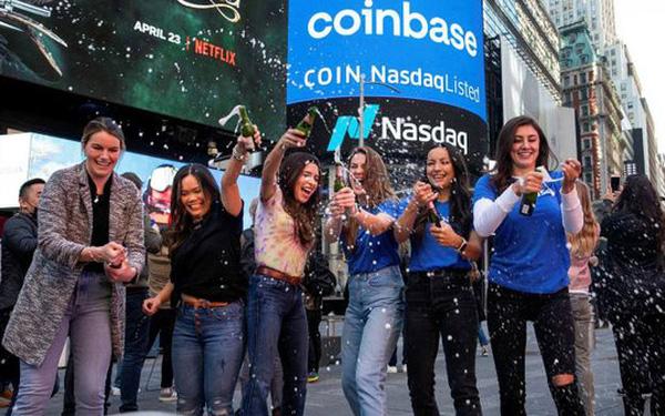 Thương vụ IPO lịch sử, sàn tiền ảo Coinbase được định giá 86 tỷ USD - Ảnh 1.