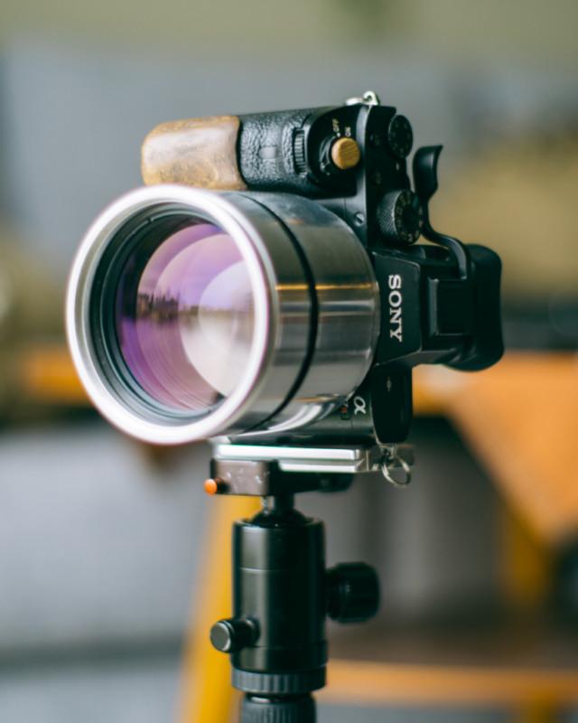 Tái chế ống kính chụp X-quang để chụp chân dung: Tưởng không hay nhưng hay không tưởng - Ảnh 5.