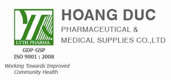 Hoang Duc Pharmaceutical & Medical Supplies co, Ltd.