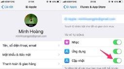 Cách tăt tính năng tự động cập nhật iOS trên iPhone