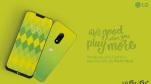 LG G7 màu nõn chuối xuất hiện trong poster quảng cáo