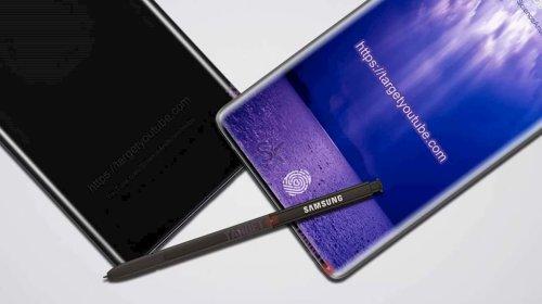 Galaxy Note 9 sẽ có cảm biến vân tay trong màn hình?