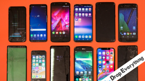 Thử nghiệm thả rơi trị giá tới 400 triệu đồng smartphone cao cấp
