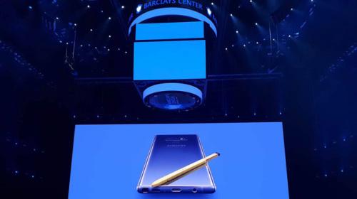Samsung ra mắt Galaxy Note9: Bút S-Pen mới, pin 4000mAh,